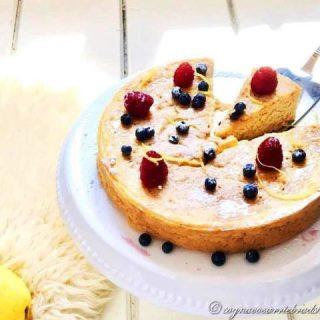 torta di ricotta e limone
