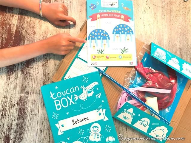 toucanbox le scatole creative